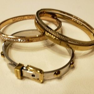 Michael Kors Set of #3 Bracelets!